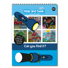 Hide and Seek Fun Activity Book